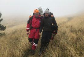 BIO POKISAO I DEHIDRIRAN Spasioci na Zelengori pronašli izgubljenog Belgijanca (FOTO)