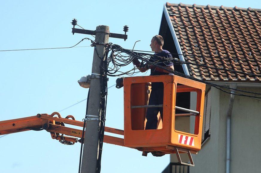 Više od 30 ulica BEZ STRUJE zbog radova na mreži