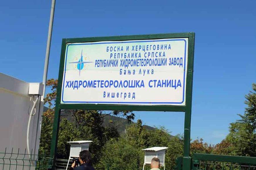 ZA TAČNE PODATKE O VREMENU U Višegradu otvorena meteorološka stanica
