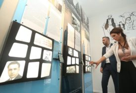 Ministar Srđan Rajčević u posjeti Narodnoj i univerzitetskoj biblioteci Republike Srpske (FOTO)