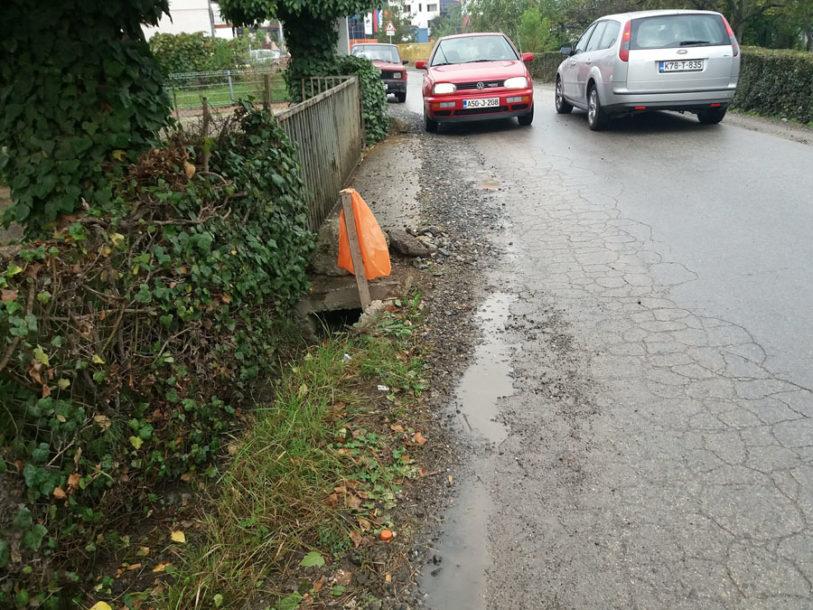 ZA PUT PUN RUPA NEMA PARA Prijedorska ulica 27. juna neće biti sanirana ni ove godine