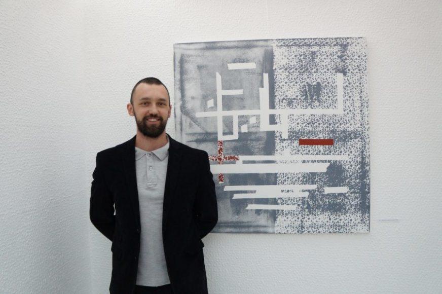Slikar Aleksa Vidaković otvorio postavku u Laktašima: Danas je mladom umjetniku lakše stvarati