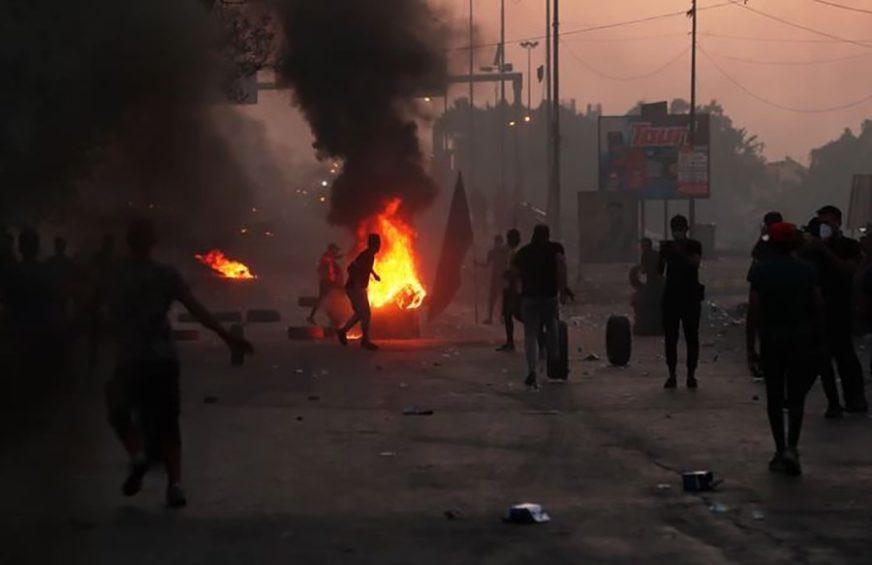 PROTESTI U IRAKU Najmanje šest novih žrtava