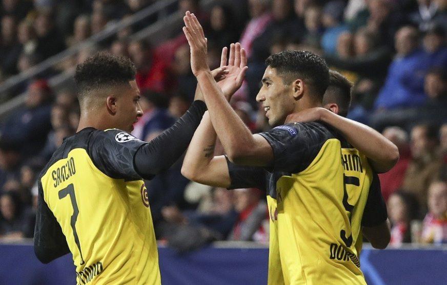 LIGA ŠAMPIONA Hakimi junak Dortmunda, Napoliju bod u Belgiji