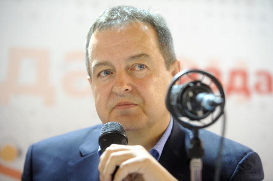 Dačić sa Zarzeckim: Neće biti sankcija SAD prema Srbiji