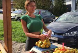KRISTINA MANDARINA NAJAVILA IZNENAĐENJE Lijepa prodavačica odlučila da obraduje fanove (FOTO)