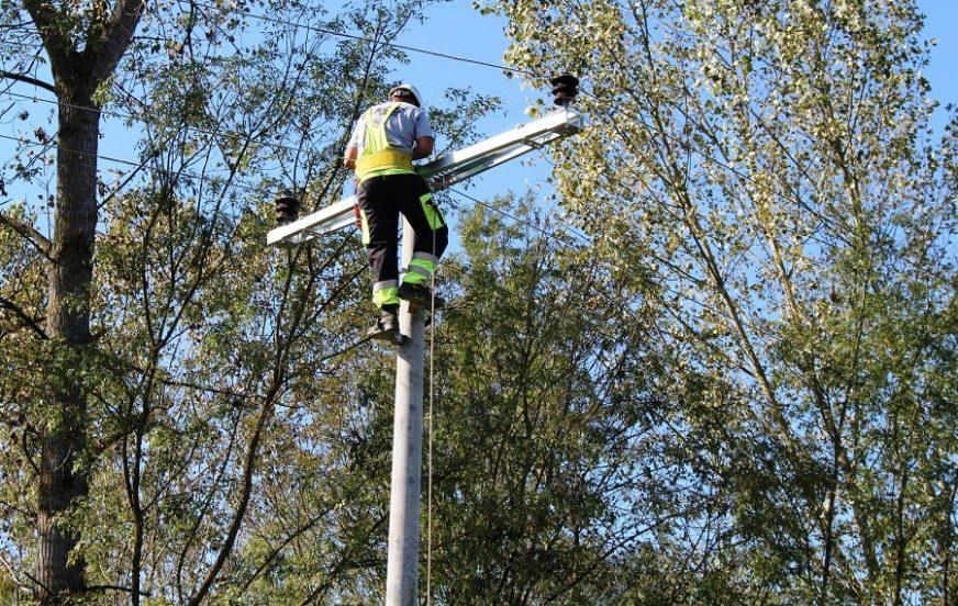 OTKLONJEN KVAR NA DALEKOVODU Bilećka sela dobila struju