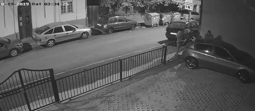 LOPOVI HARAJU Djelovalo je kao da žele da ukradu automobil, ali su uradili OVO i nestali (VIDEO)