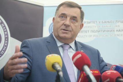 FORMIRANJE VLASTI U BiH Dodik predložio da se tokom vikenda sastane sa Izetbegovićem i Čovićem
