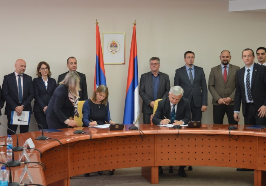 ČUBRILOVIĆ I KAVALEK U BANJALUCI Potpisan Memorandum o razumijevanju između NSRS i Misije OEBS u BiH