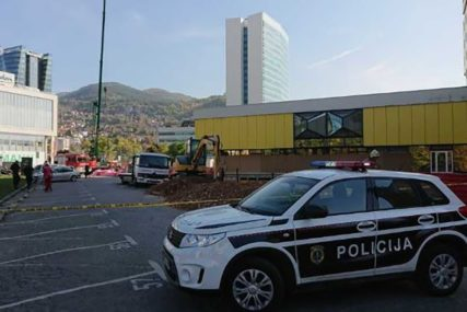 DVIJE OSOBE POVRIJEĐENE Eksplodirala plinska boca u centru Sarajeva