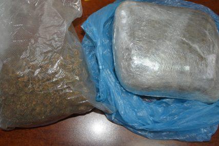 PRESJEČENA KRIJUMČARSKA RUTA Zaplijenjeno 107 kilograma marihuane