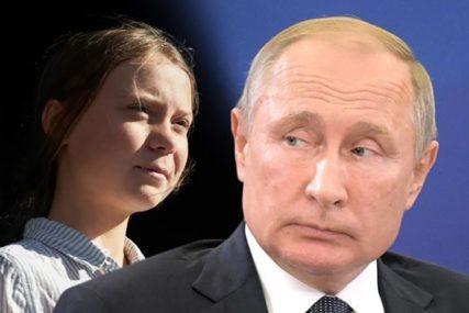 OGLASILA SE I ONA Putin je kritikovao Gretu, a sada mu je na GENIJALAN NAČIN UZVRATILA