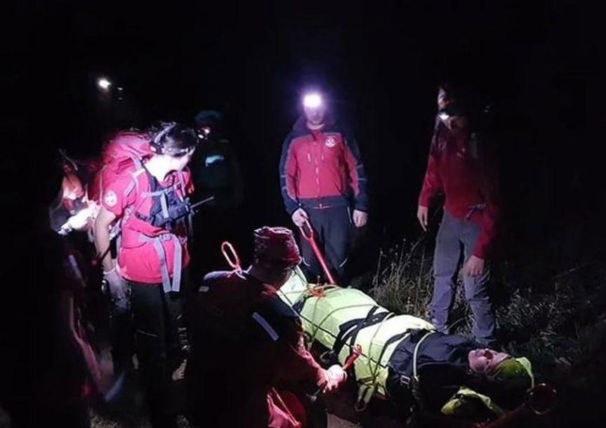 Pripadnici GSS spasili planinarku na planini Kamešnici