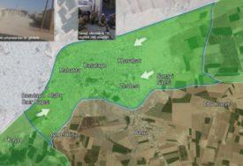 SUKOBI NE JENJAVAJU Saveznici Turske preuzeli kontrolu nad gradom Ras al Ain