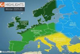 Kakva će biti ZIMA u Evropi? Na istoku velike hladnoće, na sjeveru oluje, a šta ČEKA BALKAN