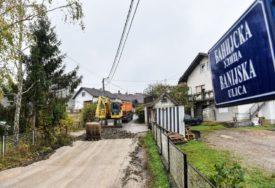 REKONSTRUKCIJA SAOBRAĆAJNICA Naredne sedmice asfaltiranje Banijske ulice