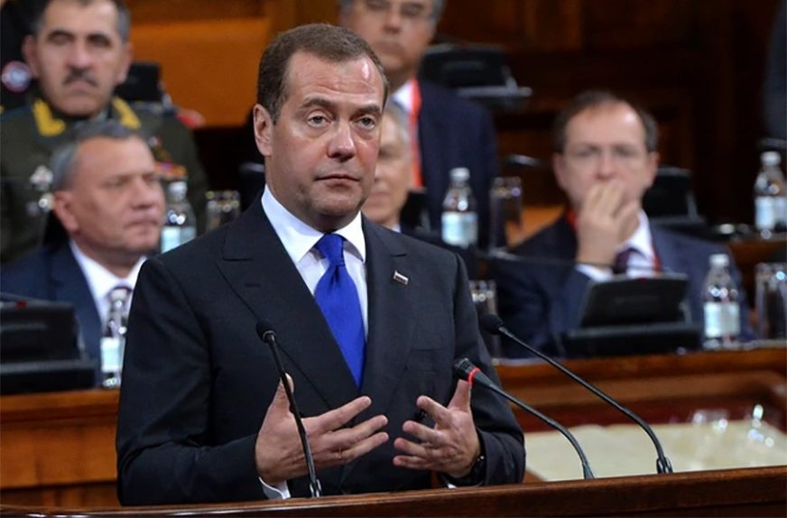 """""""PRONALAZILI SMO NAJBOLJA RJEŠENJA"""" Medvedev zahvalio Vladi za dobro odrađen posao"""