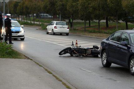 """MUŠKARAC POGINUO NA MOPEDU Uhapšen vozač """"golfa"""" koji je pobjegao sa lica mjesta"""
