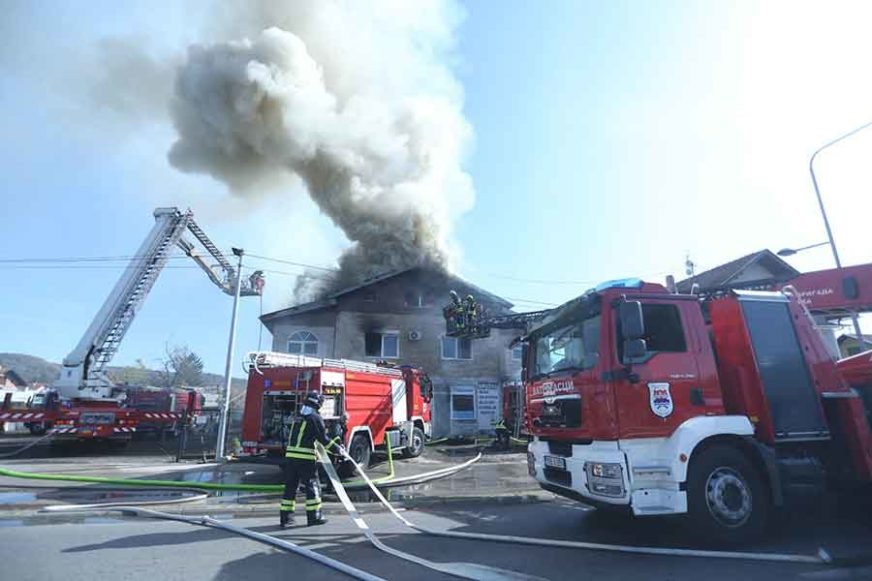 PRONAŠLI UGLJENISANO TIJELO Neispravne instalacije mogući uzrok požara u kojem je stradala radnica
