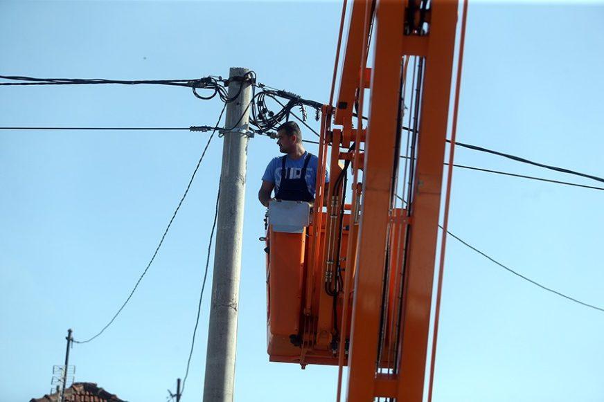 RADOVI NA MREŽI Pojedini dijelovi Banjaluke danas bez struje i vode
