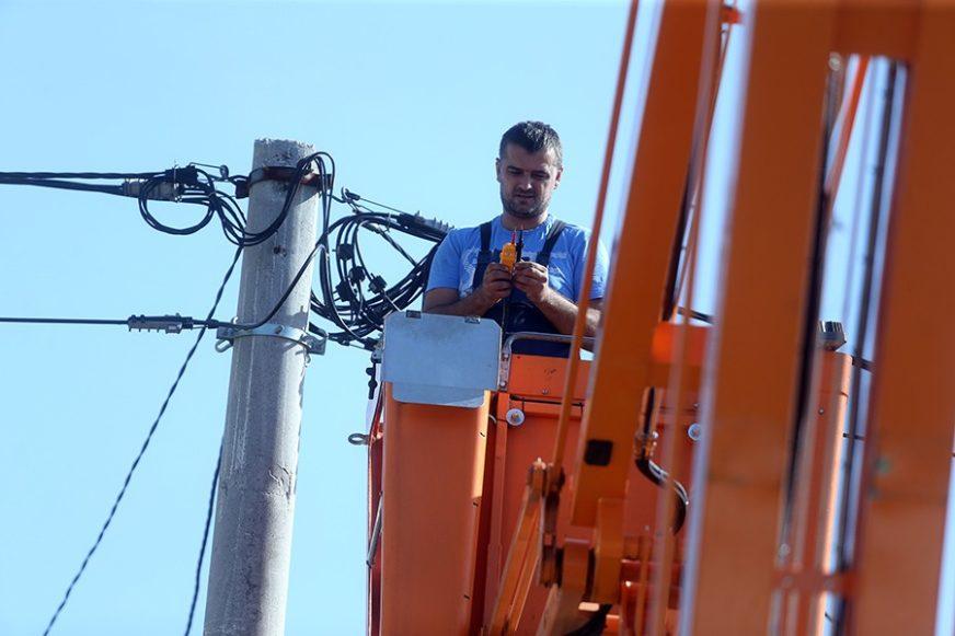 Zbog radova na mreži pojedini dijelovi grada pet sati bez struje