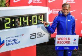 Kosgej postavila novi svjetski rekord u maratonu