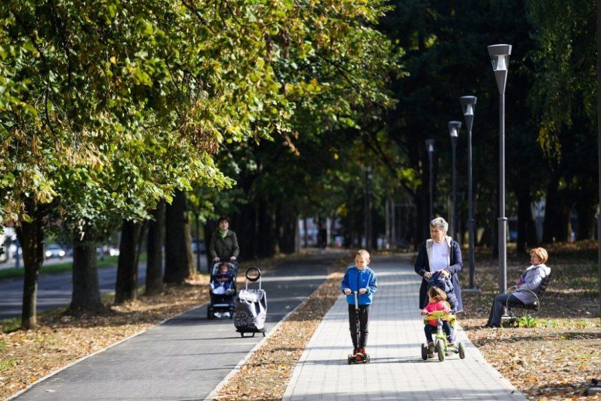 ZNAČAJAN PROJEKAT ZA GRAD Završena pješačka i biciklistička staza uz Istočni tranzit