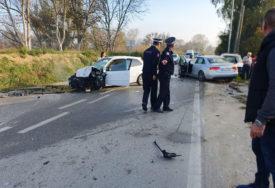"""Očevici o STRAVIČNOJ NESREĆI kod Dubice: Vozač """"audija"""" NIJE STAO na znak """"Stop"""""""