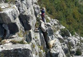 SKRENULA S PUTA Spasena djevojka iz kanjona Podružje kod Mostara