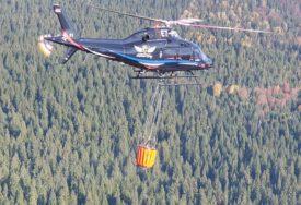 """LETIMO OD ZORE"" Helikopterski servis Srpske na putu da ugasi požar na Romaniji (VIDEO)"