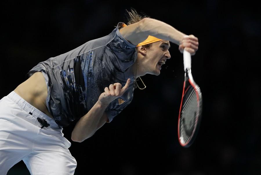 ZVEREV SLAVIO PROTIV MEDVEDEVA Nadal ostao bez polufinala na Mastersu u Londonu