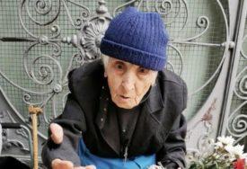 JUNAČKO SRCE STARICE Baka Katica ima 98 godina, a i dalje prodaje na pijaci voće i cvijeće