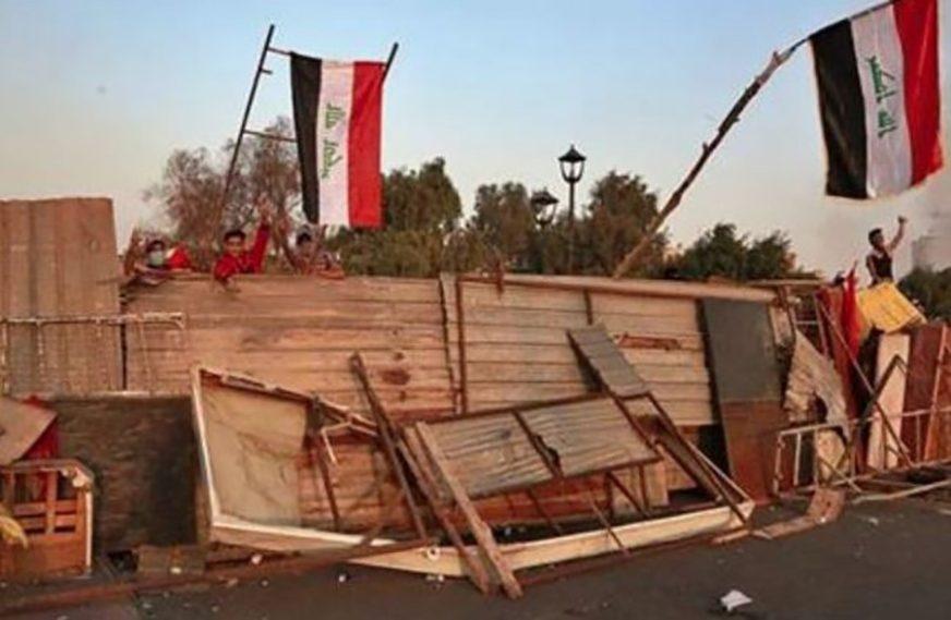 PROTESTI U BAGDADU Demonstranti zauzeli most prema sjedištu vlade