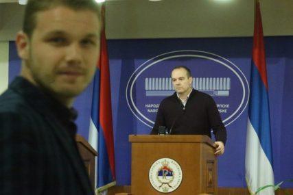 BURNO NA ETIČKOM ODBORU Stanivuković tvrdi da ga je Tamindžija ponovo vrijeđao (FOTO)