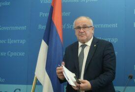 MILUNOVIĆ POZITIVAN NA VIRUS KORONA Ministar rada Srpske ima obostranu upalu pluća