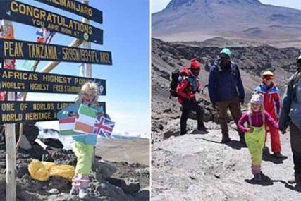 PODVIG ZA DIVLJENJE Šestogodišnja djevojčica osvojila vrh Kilimandžara i to DVA PUTA