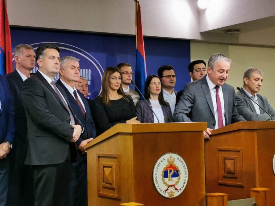 Borenović: Odbacujemo inicijative kojima se dovodi u pitanje ustavno uređenje BiH (FOTO)