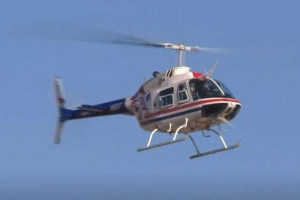 AGONIJA SE NASTAVLJA Traje potraga za drugim pilotom iz srušenog helikoptera