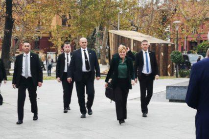 PRVA ADRESA MOSTAR Kolinda Grabar Kitarović stigla u BiH