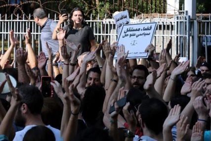 KRIZA U LIBANU Demonstranti okružili državne zgrade, RASTU TENZIJE