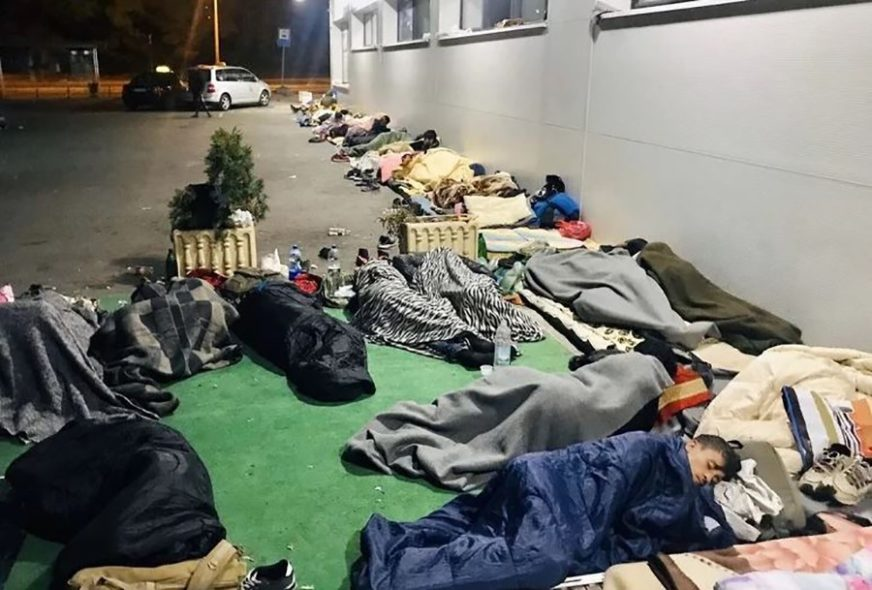 OSJEĆAJU SE UGROŽENO Mještani sela oko Velike Kladuše protestovali zbog migranata