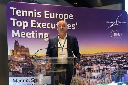 """MARKOVIĆ U MADRIDU SA VISOKIM ZVANIČNICIMA """"Razgovarali smo o razvoju tenisa u BiH"""""""