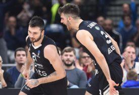 VELIKA POBJEDA PARTIZANA Crno-bijeli slavili u Bolonji za ovjeru četvrt-finala Evrokupa