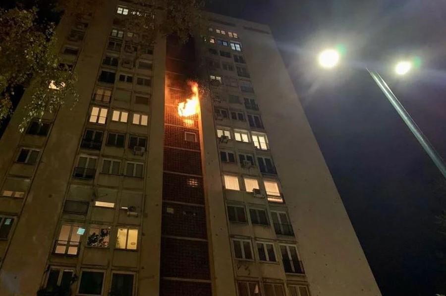 IZBIO VELIKI POŽAR U SARAJEVU Vatrogasci na terenu se bore s vatrenom stihijom (VIDEO)