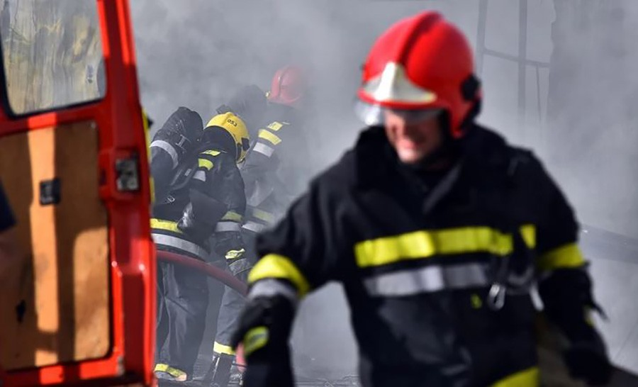 PODMETNUT POŽAR KOD SARAJEVA U plamenu izorio ugostiteljski objekat, nema povrijeđenih