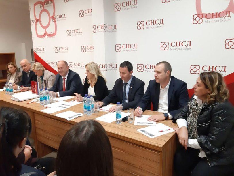 Cvijanović: SNSD u potpunosti posvećen očuvanju Srpske i vraćanju njenih prava