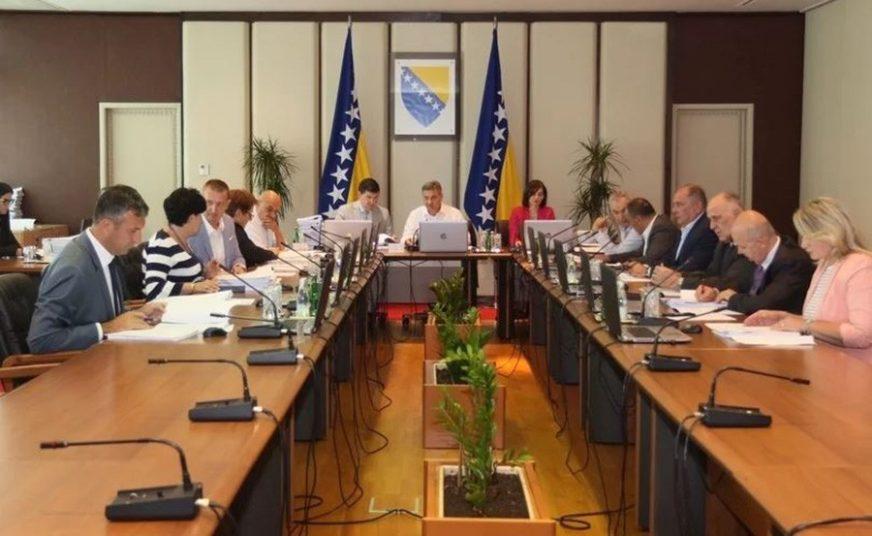 Savjet ministara utvrdio Prijedlog sporazuma o autoputu Sarajevo-Beograd