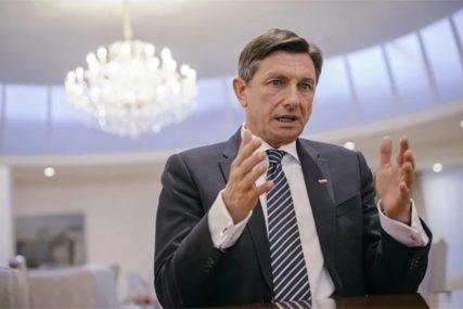 """Pahor se obratio javnosti:  Protiv sam ideje o promjeni granica na Balkanu, nisam znao za """"non pejper"""""""