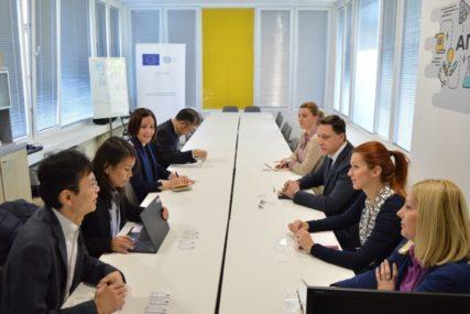 U FOKUSU RAD MALIH I SREDNJIH PREDUZEĆA Japanska agencija za međunarodnu saradnju posjetila CIDEA